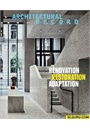 Architectural Record forside 2015 2