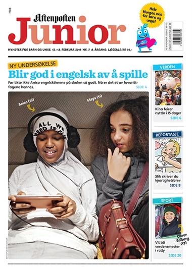 1704a714 Aftenposten Junior abonnement - bestill billig fra Bladkongen