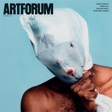 Artforum International omslag