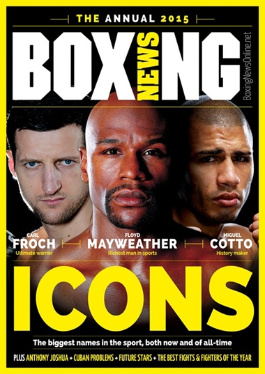 Boxing News omslag