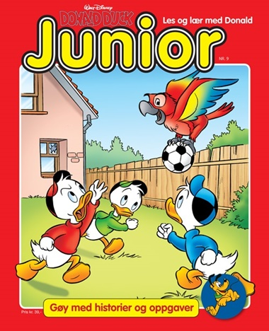 Donald Duck Junior omslag
