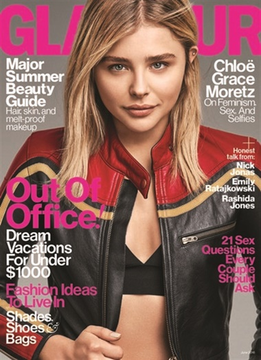 Glamour (US Edition) omslag
