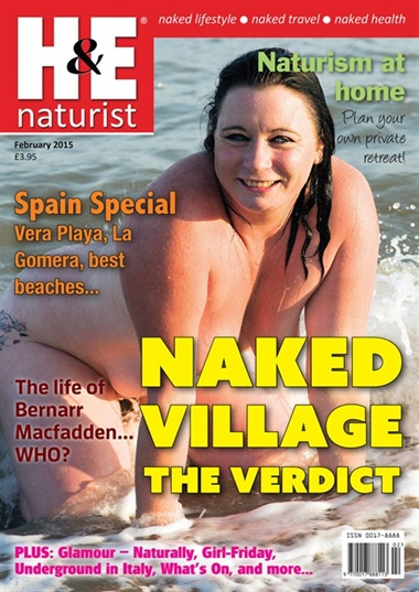 H & E Naturist Health And Efficiency Naturist omslag