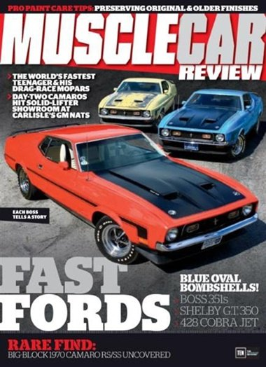 Muscle Car Review omslag