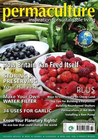 Permaculture Magazine omslag