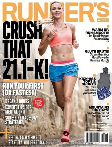 Runner's World (us Edition) omslag