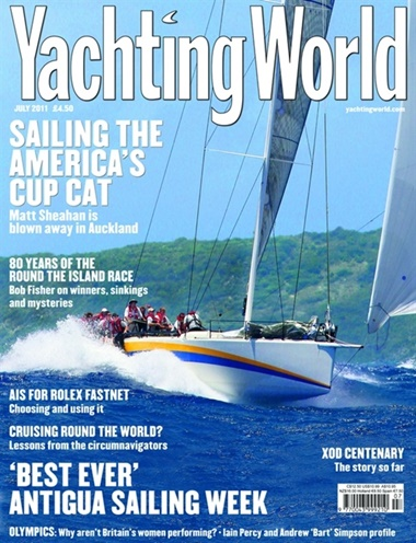 Yachting World omslag