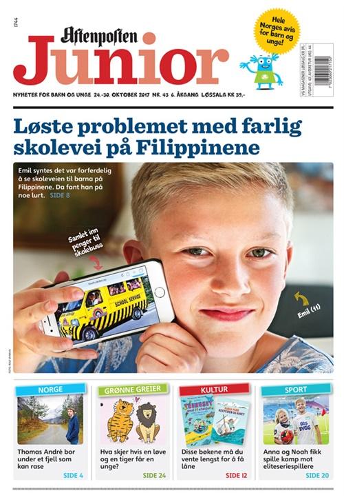 37c15e56 Aftenposten Junior omslag 2018 14 Aftenposten Junior omslag 2017 43 ...