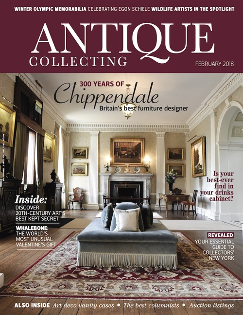 Antique Collecting forside