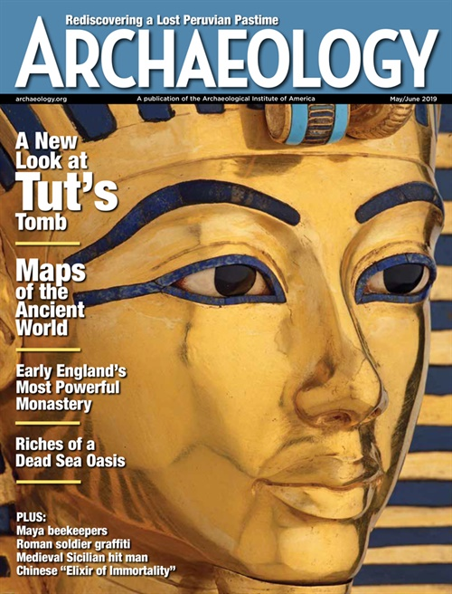 Archaeology Magazine omslag