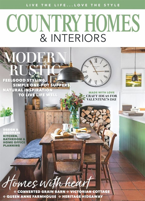 Country Homes & Interiors forside