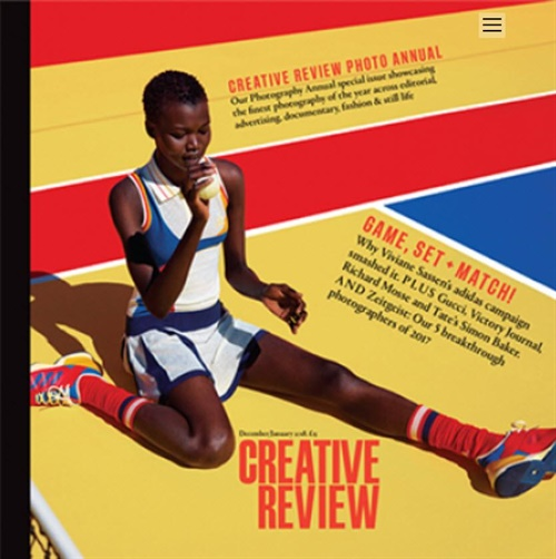 Creative Review forside