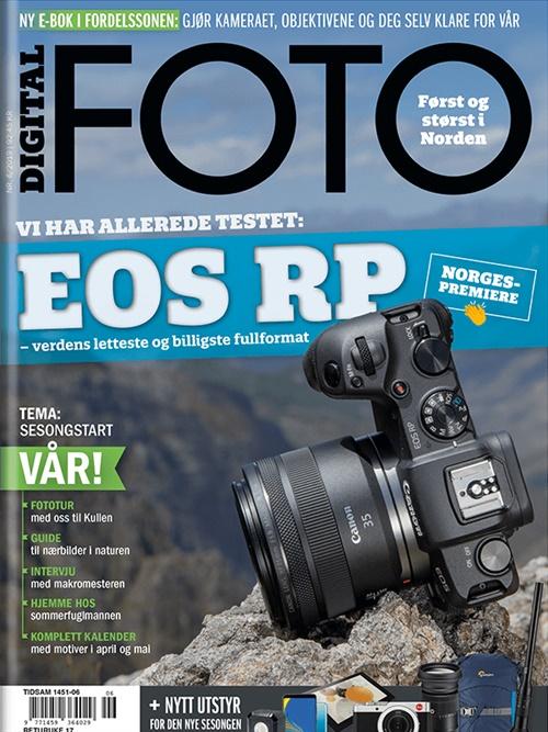 acd22a53 Digital Foto abonnement er bladet for fotografen i deg