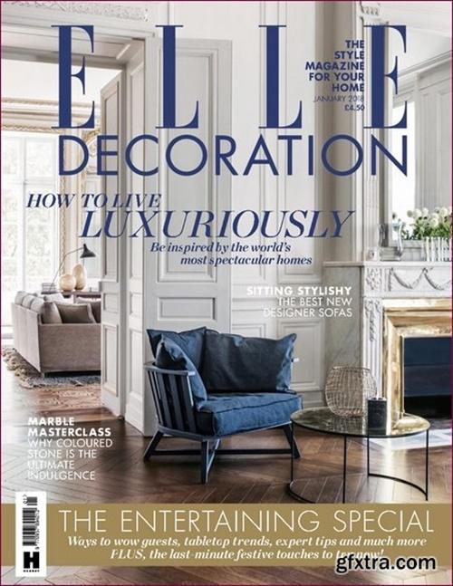 elle decoration uk edition abonnement abonnere p elle decoration uk edition til kampanjepris. Black Bedroom Furniture Sets. Home Design Ideas