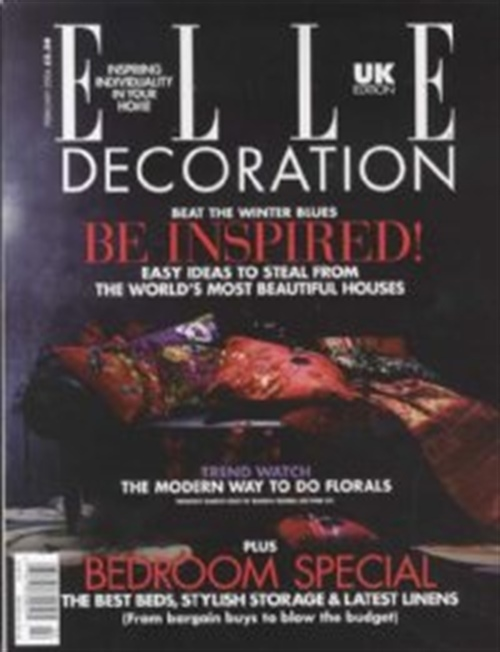 Elle decoration uk edition abonnement abonnere p elle - Elle decoration abonnement ...