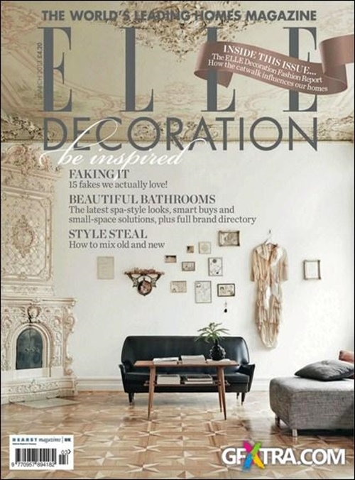 Elle decoration uk edition abonnement abonnere p elle for Elle decoration abonnement