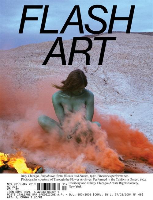 Flash Art International forside
