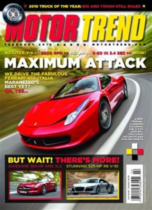 Motor trend abonnement abonnere p motor trend til for Motor trend free subscription