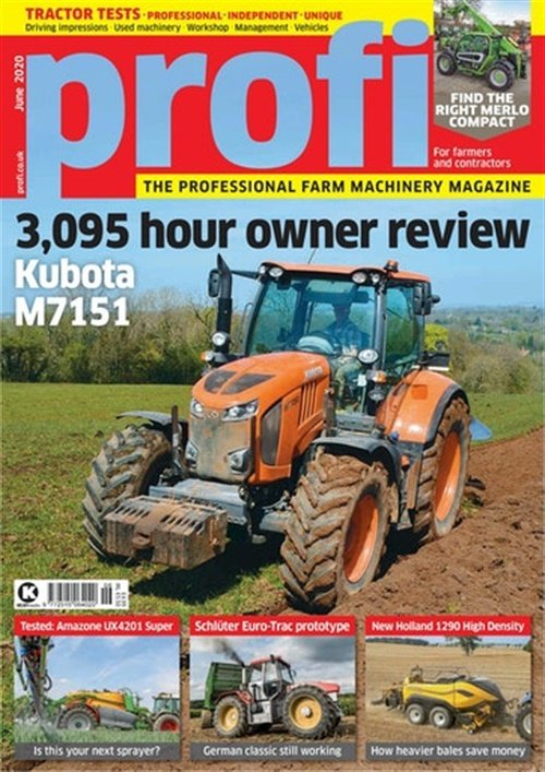 Profi International (UK Edition) forside