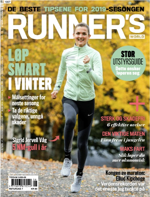 Runners World - Norsk (Norway Edition) forside
