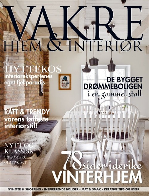 Vakre Hjem & Interiør abonnement for din inspirasjon