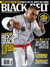 Black Belt Magazine omslag