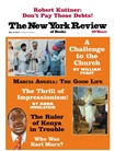 New York Review Of Books omslag