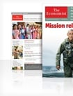 The Economist Print & Digital forside