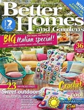 Better Homes And Gardens omslag