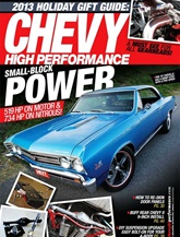 Chevy High Performance omslag