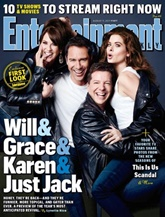 Entertainment Weekly omslag