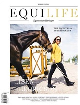 EQUILIFE WORLD omslag