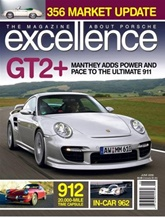 Excellence, A Magazine About Porsche Cars omslag