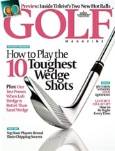 Golf Magazine omslag