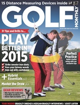 Golf Monthly omslag
