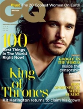 GQ (UK Edition) omslag