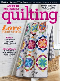 American Patchwork & Quilting forside