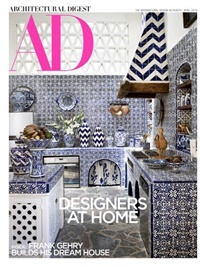 Architectural Digest omslag