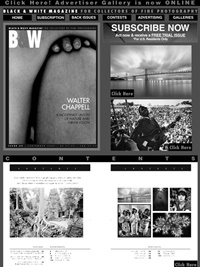 Black & White Magazine omslag