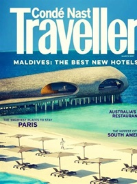 Conde Nast Traveler (US Edition) omslag