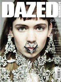 Dazed & Confused Magazine forside