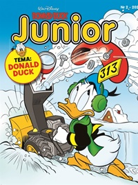 Donald Duck Junior forside