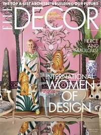Elle Decor (US Edition) forside