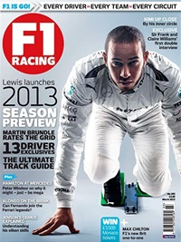 F1 Racing (UK Edition) forside