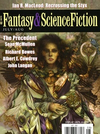 Fantasy & Science Fiction omslag
