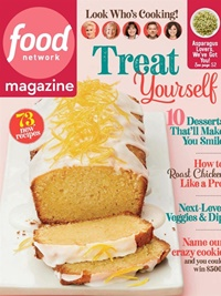 Food Network Magazine forside