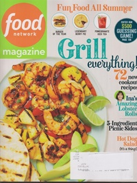 Food Network Magazine omslag