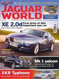 Jaguar World Monthly forside