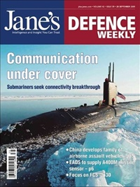Jane´s Defence Weekly omslag