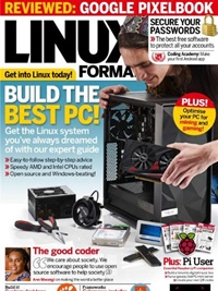 Linux Magazine (UK Edition) forside